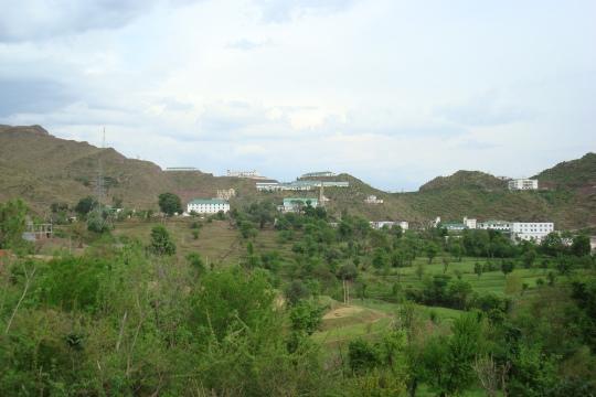 Baba Ghulam Shah Badshah University: A View Of The Campus