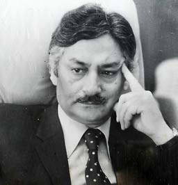 Agha Nasir Ali during his stint as administrative officer of the state.