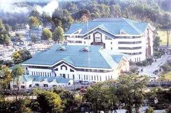 Corporate Office of J&K Bank. Pic: Bilal Bahadur