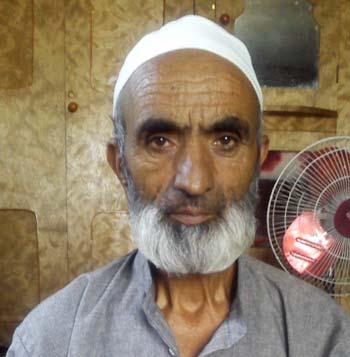 Ghulam Ahmad Dar, husband of a victim.