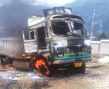 Kishtwar-riots-truck
