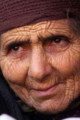 Lal Jan doesn't need to express anything to the outer world as her eyes recount everything.