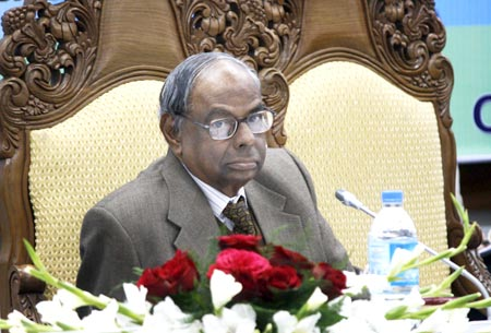 Dr C Rangarajan presented the report on employment generation in J&K.