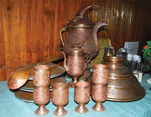 Kashmiri copperwear
