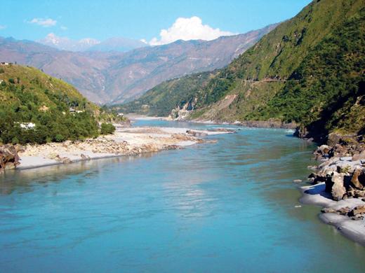 chenab-river