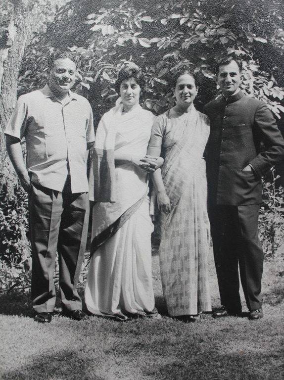 Mehmooda with her family