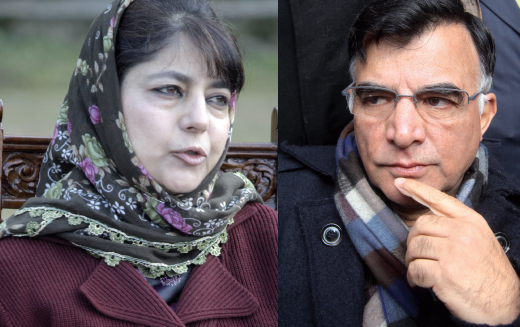 Mehbooba Mufti and Dr Mehboob Beg
