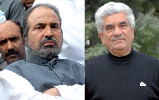 Muzaffar Hussain Beigh and Shariq ud din Shariq