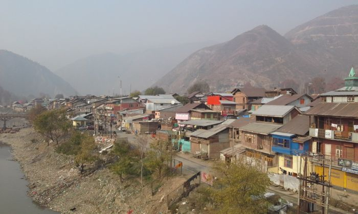 A view of Old Town Baramulla
