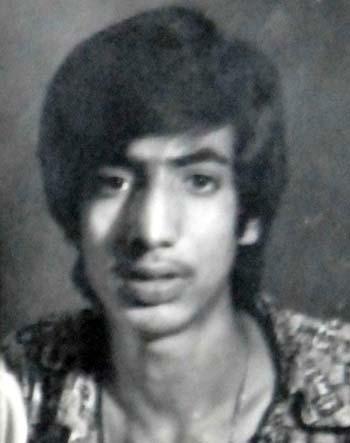 Katjoo during youthful days.