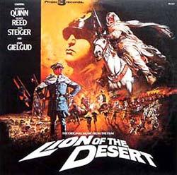 A poster of Omar Mukhtar - Lion of the Desert