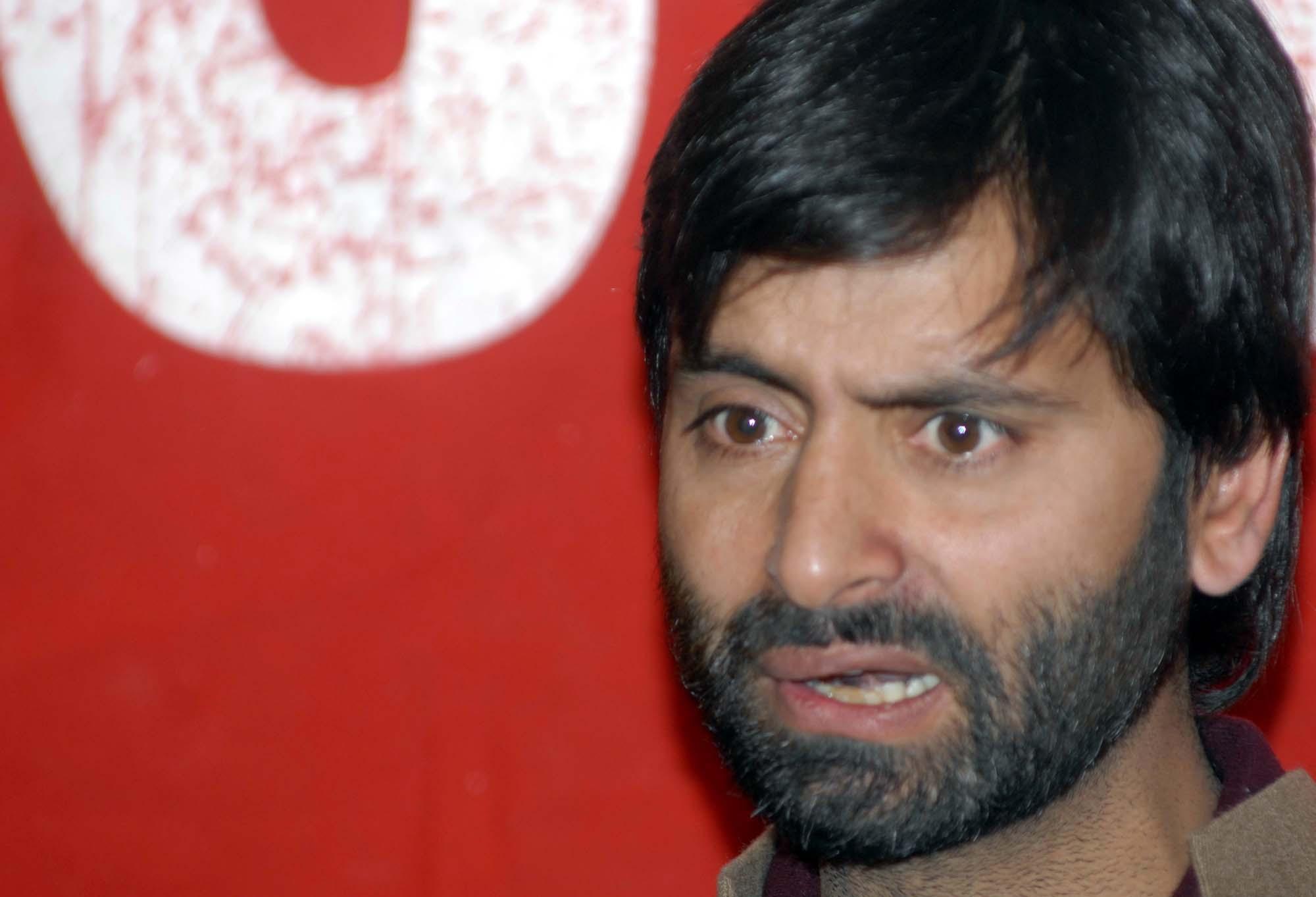 JKLF Chairman Muhammad Yaseen Malik