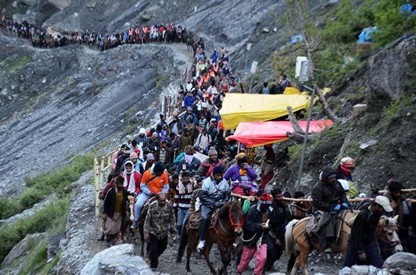 Amarnath yatra 2017 for 40 days, registration begins on March 1 on kedarnath yatra, hemkund sahib yatra, char dham yatra, mount kailash yatra, yamunotri yatra, badrinath yatra, jwala devi yatra, 4 dham yatra,