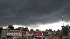 Overcast sky in Srinagar. Pic: Durdana Bhat