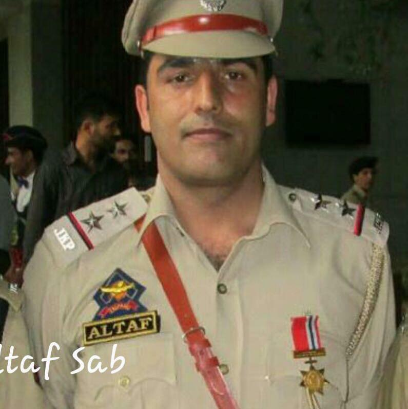 SI Altaf Ahmad Dar