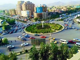 A view of Afghanistan's capital Kabul city.