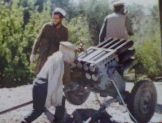 Bangroo during afghan war.