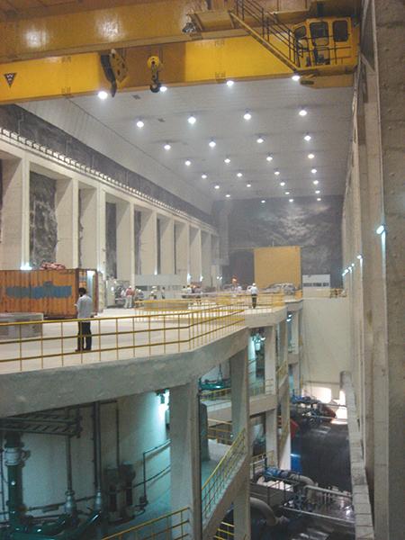 Inside Baglihar's multiplex.