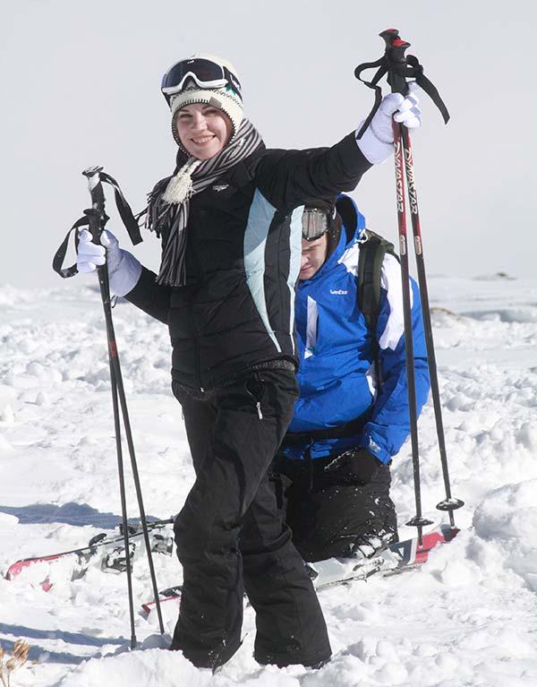 Foreigner-skier-at-Gulmarg