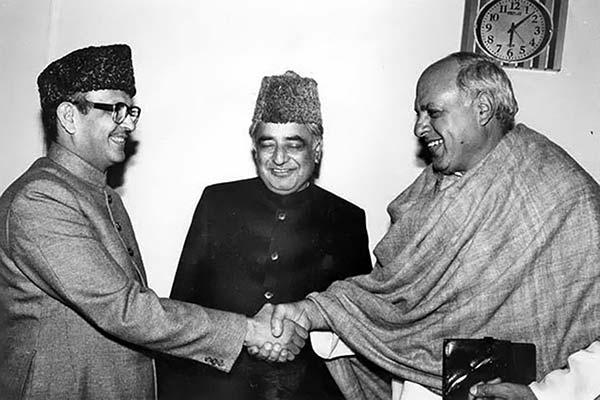 VP Singh, Mufti Mohammad Sayeed and Dr Farooq Abdullah