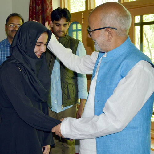 Education Minister personally visits Dadasara to felicitate Matric toppers.