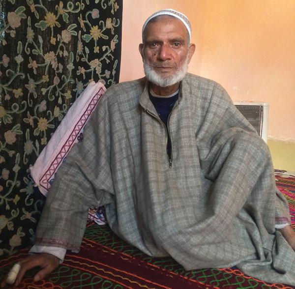 Bus driver Ali Mohammad Dar.