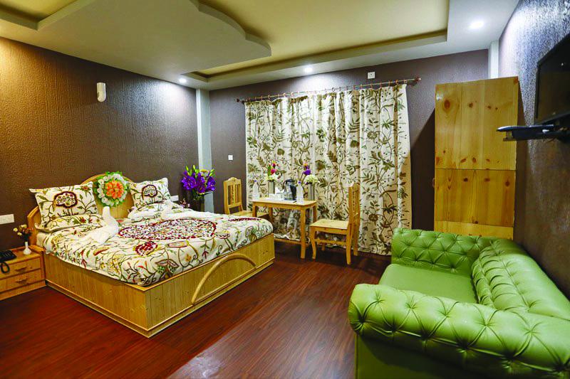 Hotel Shefat bedroom