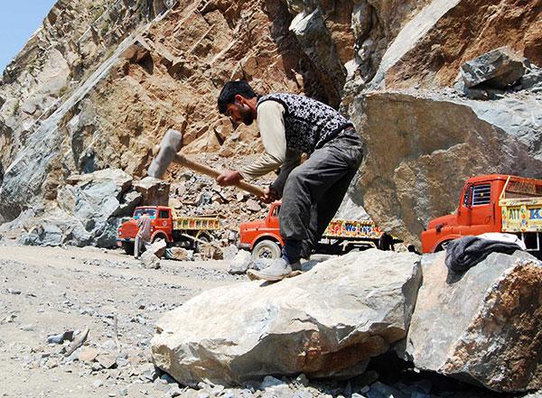 Stone-Labour