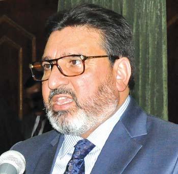 MLA Amira Kadal & former minister Syed Muhammad Altaf Bukhari