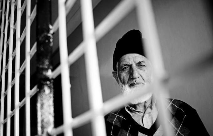 Syed Ali Geelani is under house detention since he returned from New Delhi.