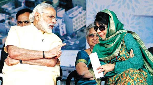 Modi-and-Mehbooba