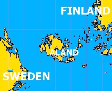 Finland Auland Sweden