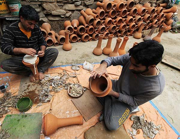 Kashmir-Potters