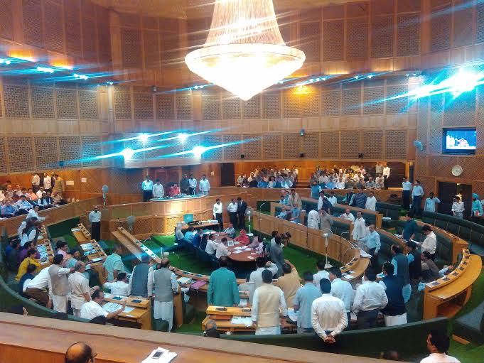 The Lawmakers stood up from their seats and asked chair: What their role is! (KL Image courtesy: Sofi Ahsan)