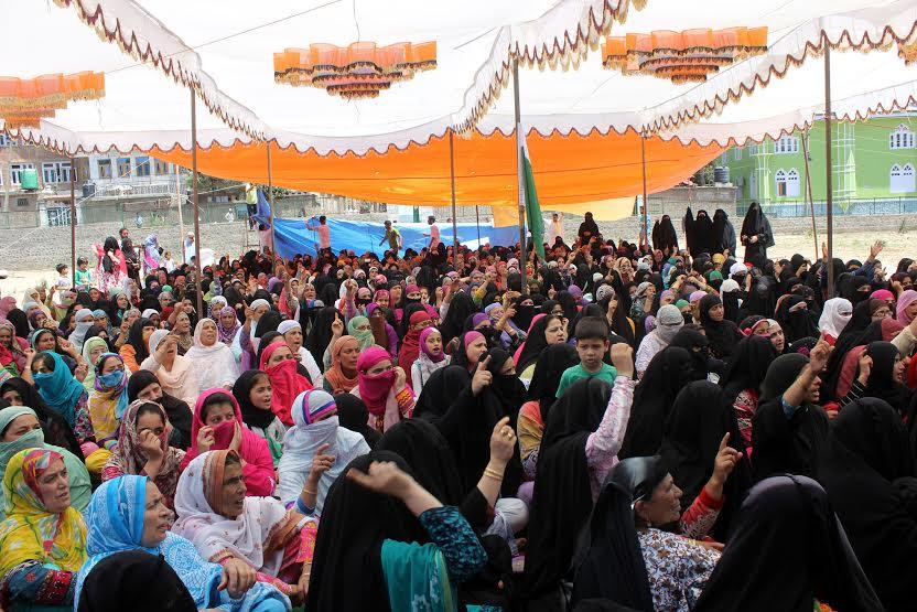 Women Rally in Bijbehara 2