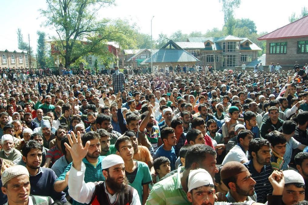 Funeral of Basit Ahmad Ahanger 1