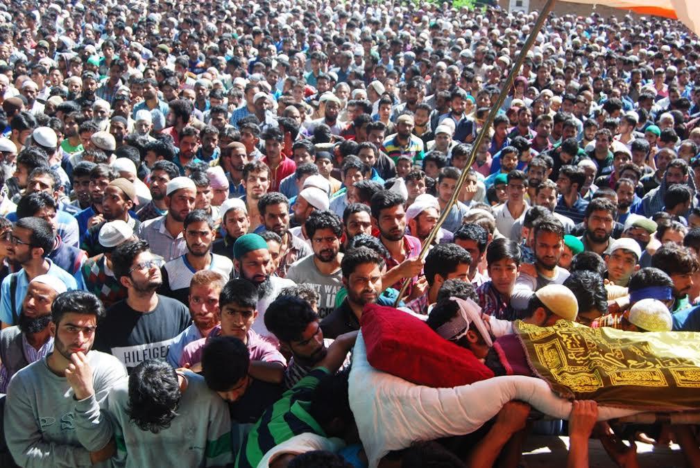 Funeral of Basit Ahmad Ahanger 4