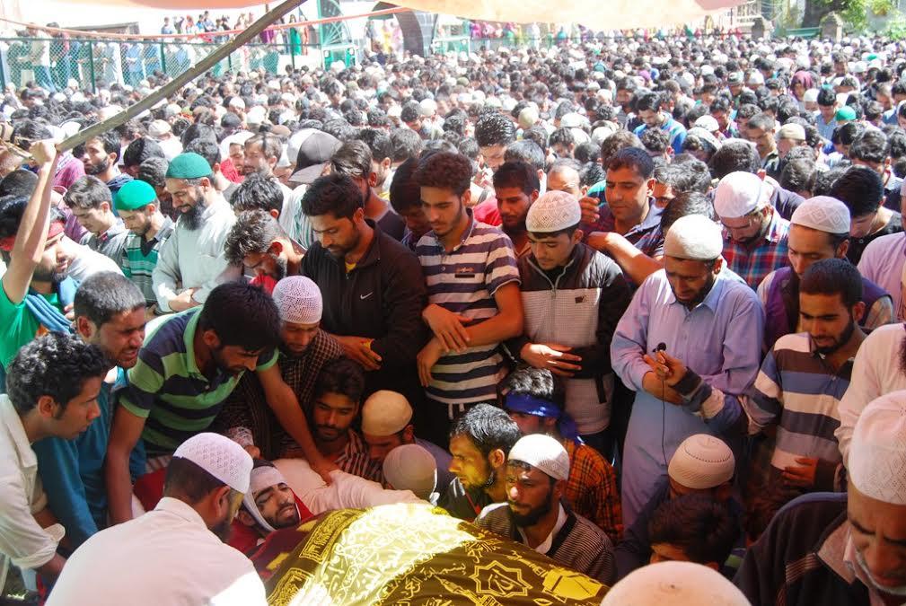 Funeral of Basit Ahmad Ahanger 5