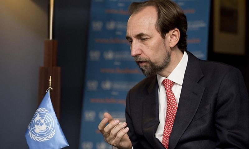 UNHRC Commissioner Zeid Ra'ad Al Hussein