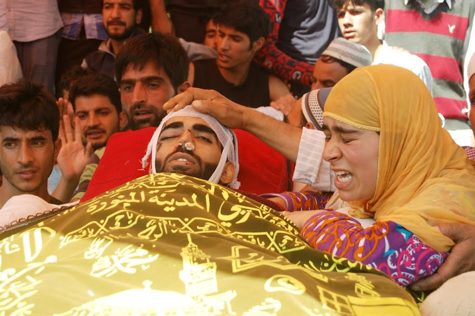 funeral of Basit Ahmad Ahanger 2