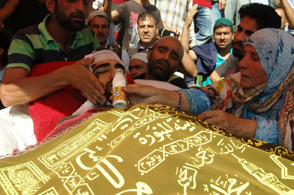 funeral of Basit Ahmad Ahanger 3
