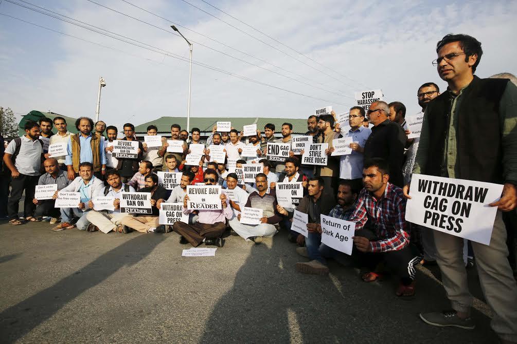 Kashmir Reader ban