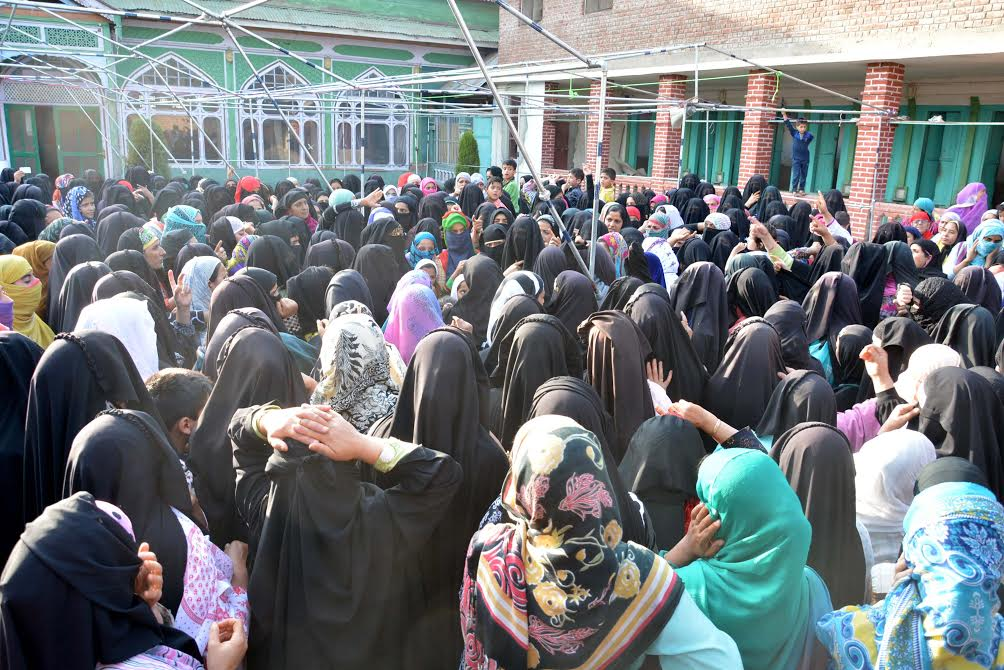 Woman separatist leader Asiya Andrabi arrested in downtown Srinagar