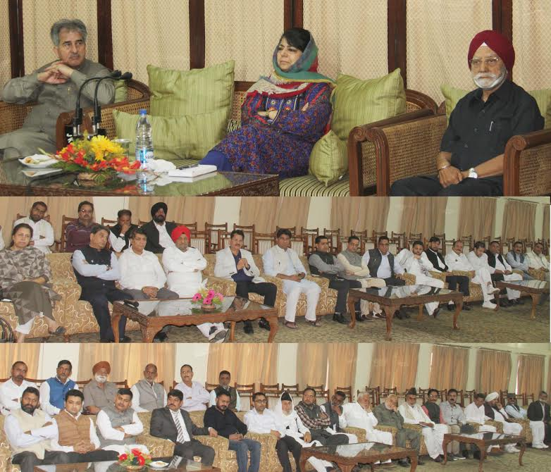 Mehbooba Mufti launches WB funded Jhelum-Tawi flood recovery project