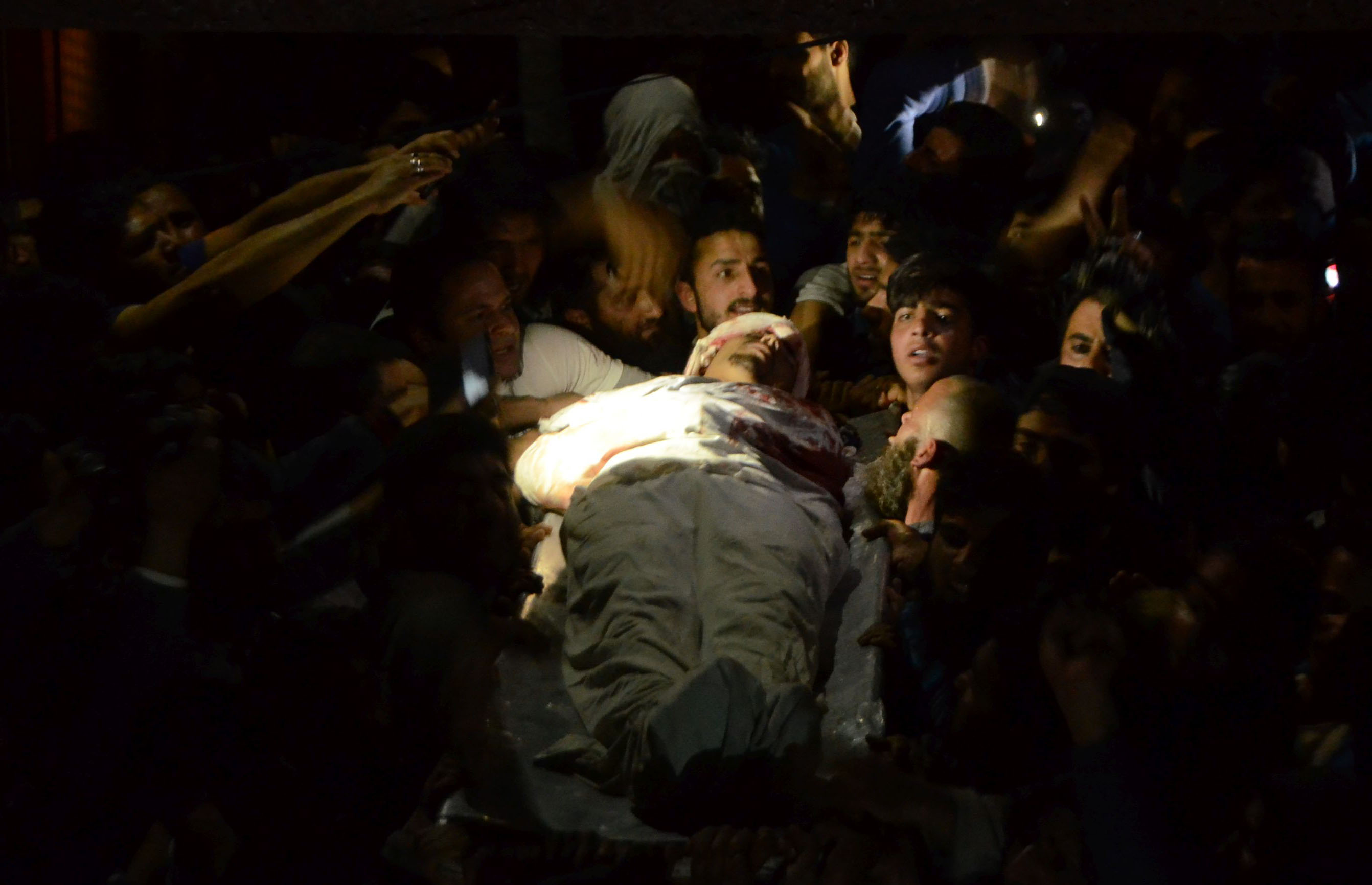 Killed In Srinagar In Clashes Between Protesters And Security Forces